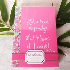 NWT Lilly Pulitzer Notebook Set